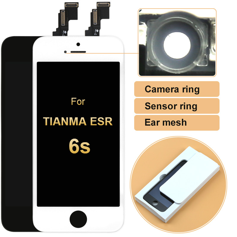 5pcs For IPhone 6S Tianma No Dead Pixel LCD For IPhone 6S LCD Display With Touch Screen Digitizer Assembly Replacement Parts