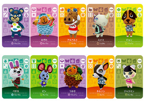 Image 4 - New Amiibo Card NS Game Series 2 (121 to 160) Animal Crossing Card Work for
