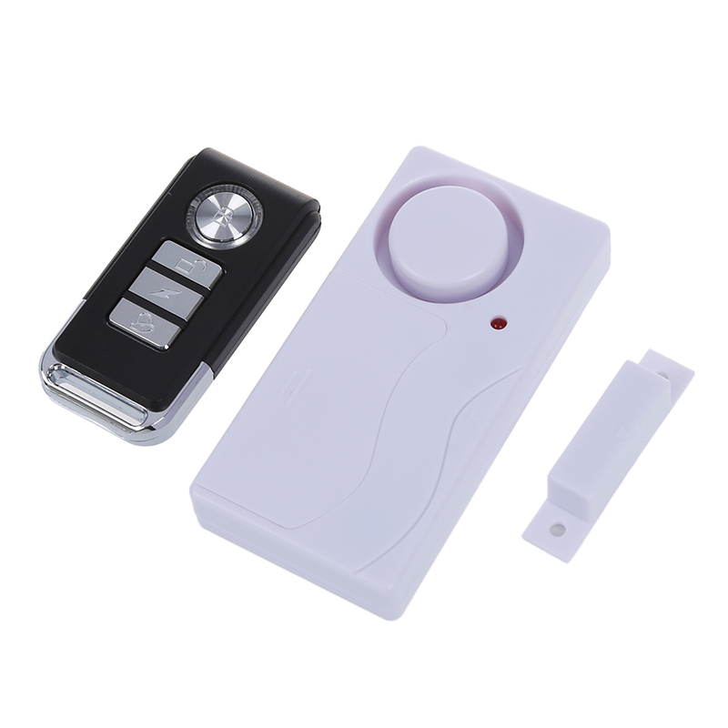 ABKT-Wireless Magnetic Of Door Window Of The Security Sensor Input Anti-theft Alarm / Remote Control.