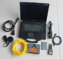 Qaulity superior para bmw icom a2 com CF-52 portátil 720gb ssd ferramenta de diagnóstico & programação ferragem nova versão de atualização do icom a