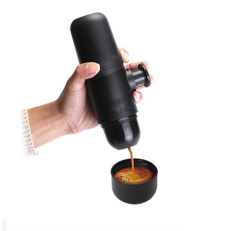 70ml Mini Manual Coffee Maker Portable Pressure Espresso Coffee Machine Pressing Cup Handheld Espresso Maker For Home Traveller