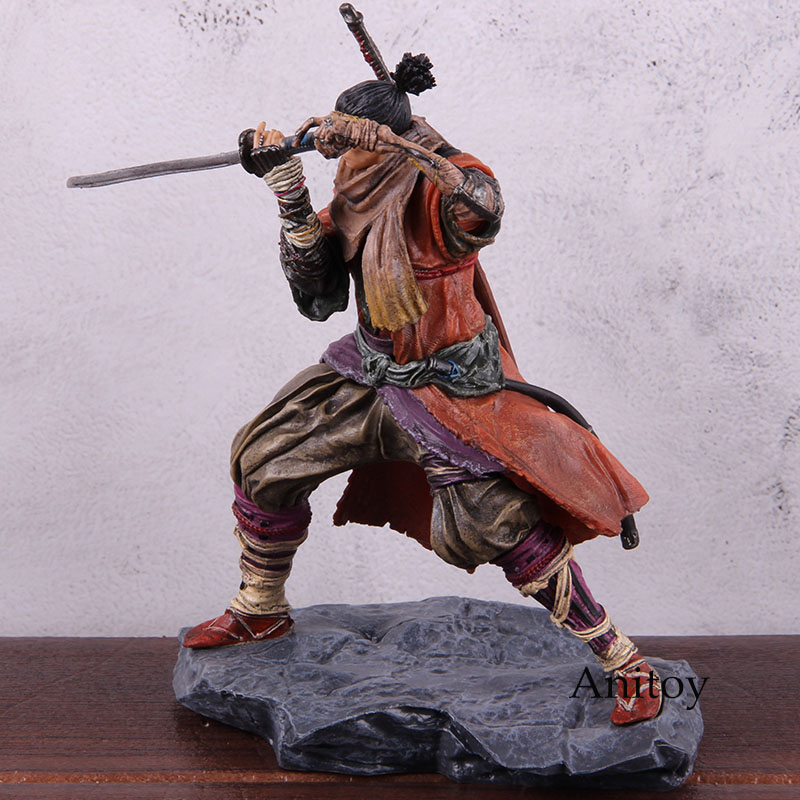 Image 4 - Sekiro Shadows Die Twice Figure PVC Anime Action Figures Collectible Model ToyAction & Toy Figures   -