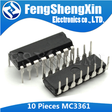 10 шт. MC3361 DIP MC3361BP DIP-16 MC3361CP DIP16 низкая мощность FM IF IC