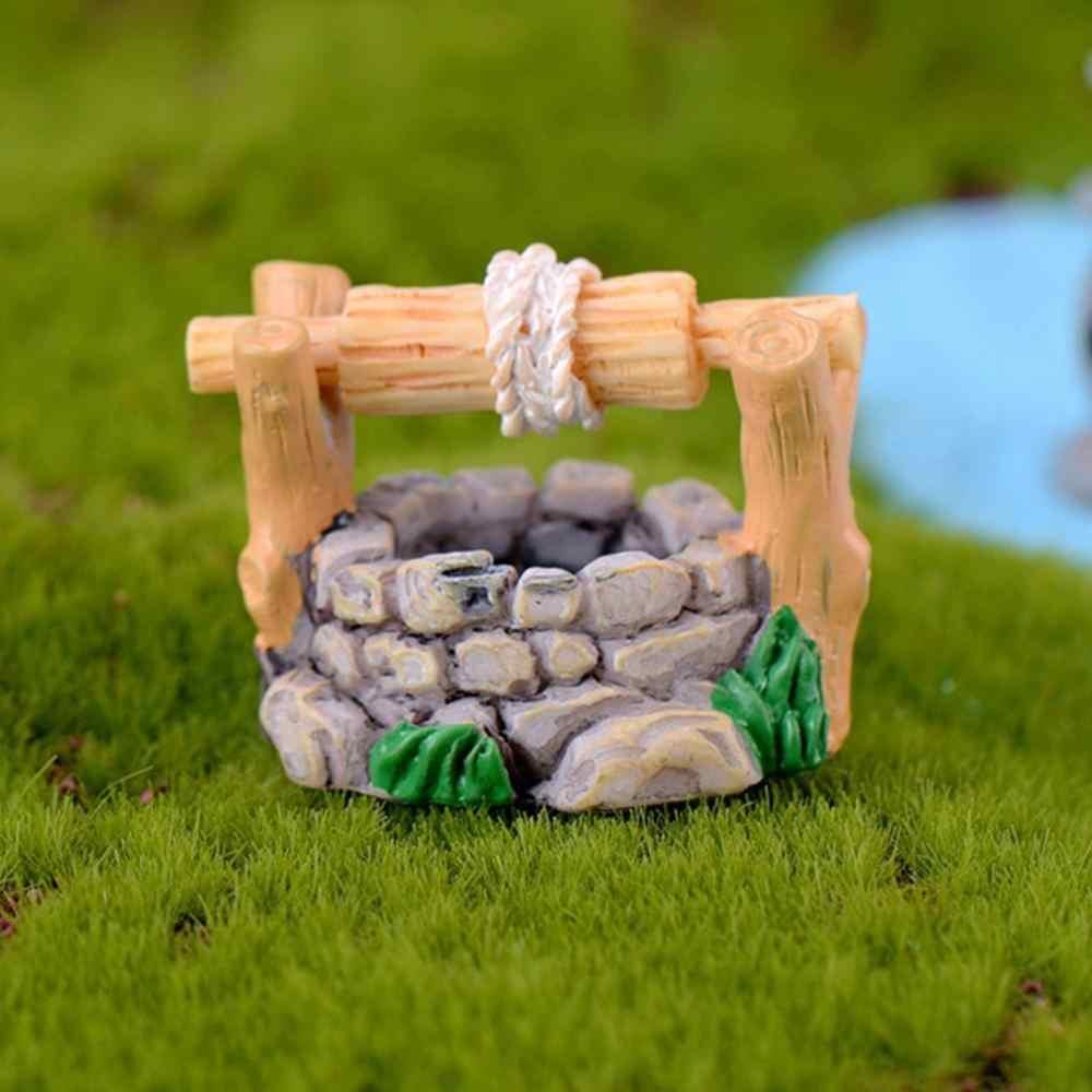 3PCS For Plant Pots Fairy Garden Miniature Landscape resin crafts Lawn Ornaments