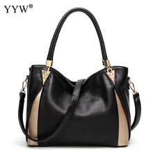 Waterproof Shopping Tote Bags For Women High Quality Pu Leather Female Handbag Black 2019 Vintage Mom Zipper Handbags Sac A Main(China)