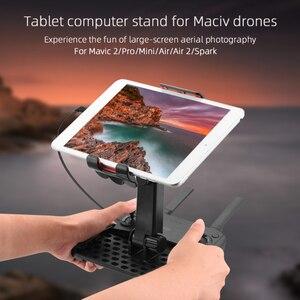 Image 5 - حامل تابلت عالمي لـ DJI Mavic Pro Mini 2 Spark Mavic 2 Zoom ، وحدة تحكم Mavic AIR 2 ، حامل هاتف بدون طيار