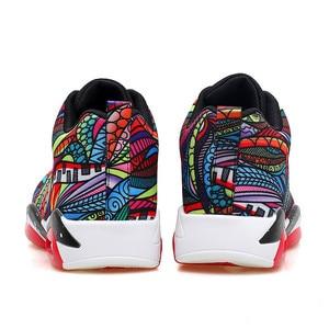 Image 5 - 남성 운동화 운동화 야외 스포츠 신발 편안한 통기성 조깅화 블랙 스니커즈 chaussure homme