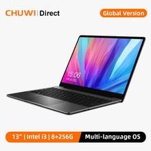 CHUWI CoreBook Pro 13 inç 2160*1440 ekran Intel Core i3-6157U çift çekirdekli İşlemci LPDDR4 8GB 256GB SSD Windows 10 dizüstü bilgisayar