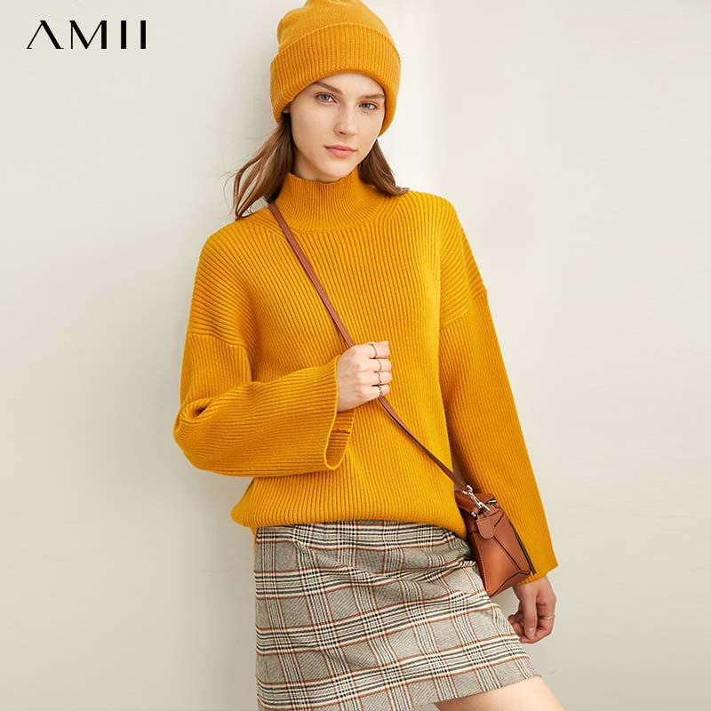 Amii  Lazy Air Yme Fashion Sweater Women's 2019 Winter New Casual Loose-fitting Sweater 11920217