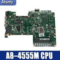Para For HP Pavilion 15-B 15-Z Série 709175-709175-501 709175-601 DA0U56MB6E0 001 UMA A70M A8-4555M Laptop motherboard Testado