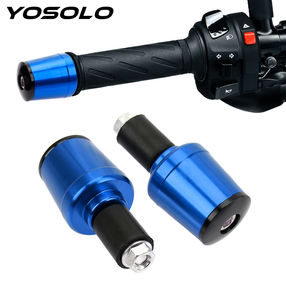 1 Pair Motorcycle Handle Plug For Options 7/8