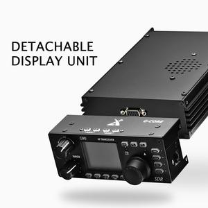 Image 3 - XIEGU G90 QRP HF telsiz 20W SSB CW AM FM amatör radyo 0.5 30MHz SDR yapısı dahili otomatik anten Tuner GSOC
