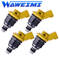 WAWEIMI Marke Neue 4 Stück Kraftstoff Injektor OE 16600-RR543 555CC Für Nisaan 300ZX Z32 RB25DET VG30DETT SR20DET KA24 16600RR543