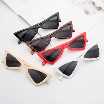 Kobiety mała ramka okulary przeciwsłoneczne okulary przeciwsłoneczne Cat Eye UV400 okulary przeciwsłoneczne okulary ulicy okulary modne okulary przeciwsłoneczne tanie i dobre opinie Antyrefleksyjne Anty-uv Pyłoszczelna Ochrona przed promieniowaniem