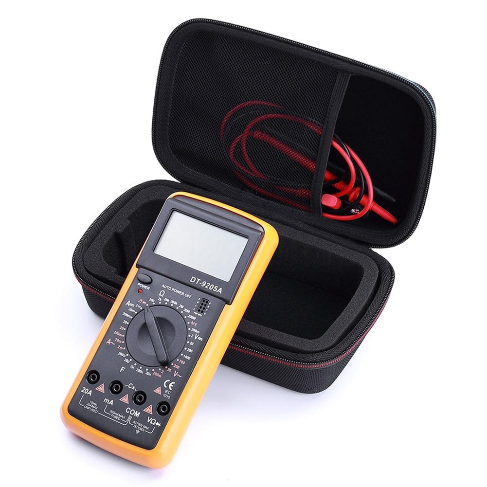 Storage Bag Travel Shockproof Digital Multimeter Hard Durable Carry Case EVA Protective Cover For Fluke F117C/ F17B+/ F115C