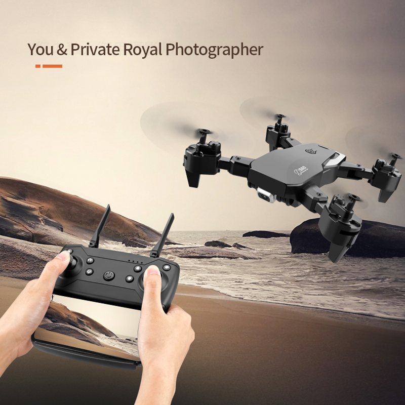 2021 NEW Drone 4k profession HD Wide Angle Camera 1080P WiFi fpv Drone Dual Camera  Height Keep Drones Camera Helicopter Toys 6