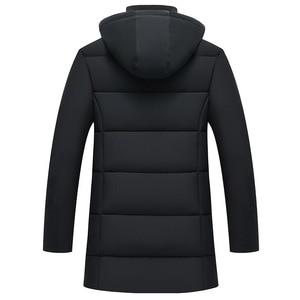 Image 4 - AKSR Mens Winter Jacket Coat Large Size Overcoat Parkas Thick Warm Hooded Winter Coat Men Windbreaker Casaco Masculino Inverno