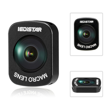 3 Options Fisheye/grand Angle/Micro lentille conception dadsorption magnétique pour DJI OSMO poche portable cardan caméra accessoires