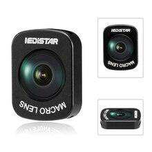 3 opciones de ojo de pez/gran angular/Micro lente diseño de adsorción magnética para DJI OSMO Pocket cardán accesorios de cámara