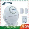 CPVAN PIR датчик движения сигнализация 125дб домашняя сигнализация 433 МГц инфракрасный детектор движения для гаража/сарая/фургона/магазина/офис...