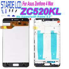 Starde 5.2'' Screen for Asus Zenfone 4 Max ZC520KL X00HD LCD Display Touch Screen Digitizer Glass Assembly with Frame and Tools все цены