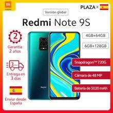 Xiaomi Redmi Note 9S versión Global 6GB 128GB 4GB 64GB Nota 9S los teléfonos móviles Snapdragon 720G 6,67