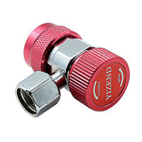 High Quality 2 Sets Car A/C Air Condition Quick Coupler Adapter H/L Manifold Connector R134A