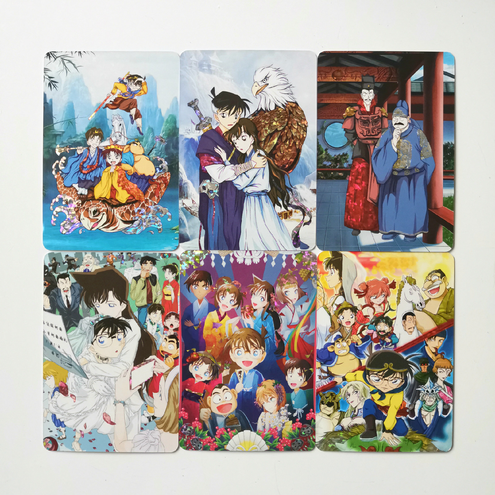 9pcs/set Detective Conan Case Closed Chinese Elements Toys Hobbies Hobby Collectibles Game Collection Anime Cards