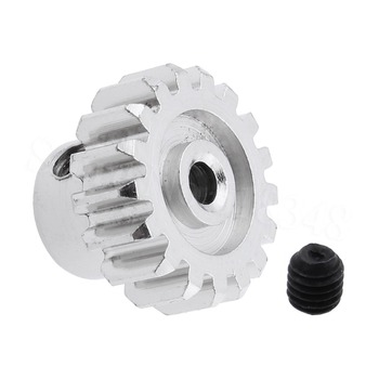 For WLtoys A979 RC Car Parts Metal Motor Pinion Gear 17T Teeth1/18 Off Road Truck Upgrades Fit 380 390 Electric Engine
