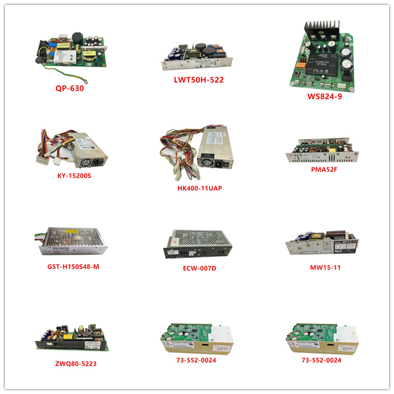 QP-630| LWT50H-522| WS824-9| KY-15200S| HK400-11UAP| PMA52F| GST-H150S48-M| ECW-007D| MW15-11| ZWQ80-5223| 73-552-0024 Used