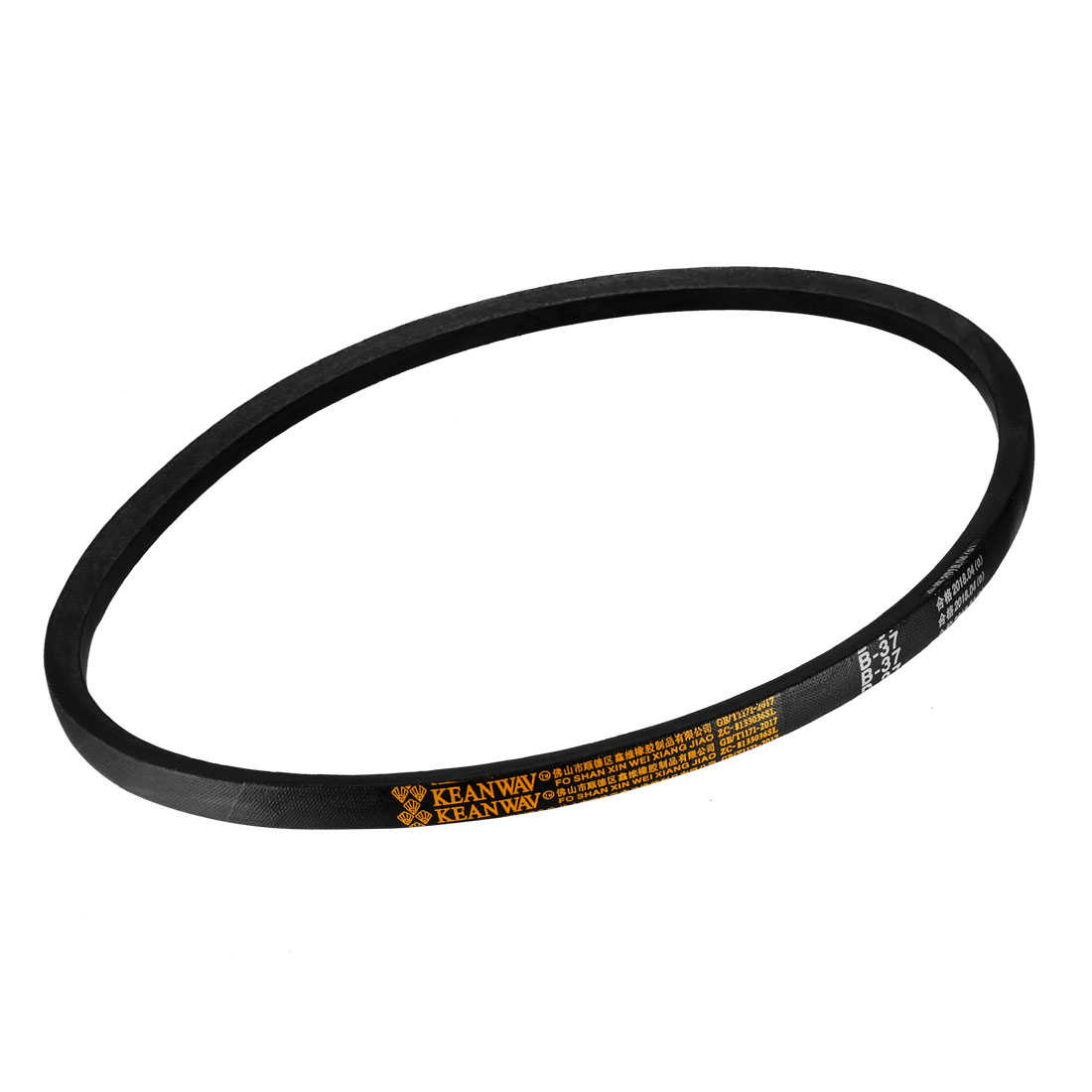 uxcell K Type 21-inch Girth Machine Transmission Band Wedge Rope Vee V Belt