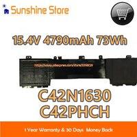 Genuine C42N1630 Battery For Asus UX550VD UX550VE Series Laptop For ZenBook Pro UX550VE 15.4V 4790mAh C42PHCH 0B200 02520000