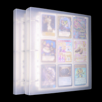 450 pockets 900 Cards Capacity Cards Holder Binders Albums Pokemon CCG MTG Magic Yugioh Board Game Cards book Sleeve Holder