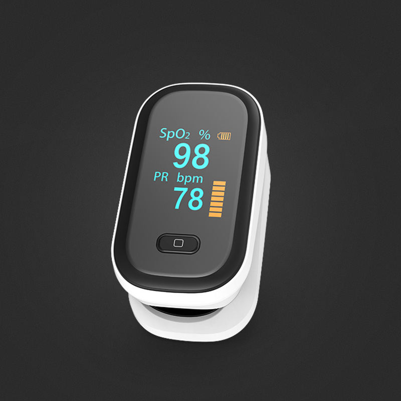 Yongrow Medical Fingertip Pulse Oximeter Digital Pulse Oximeter Blood Oxygen Saturation Monitor Health Care Spo2 PR