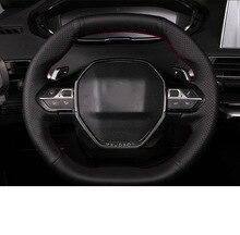 Lsrtw2017 Genuine Leather Car Steering Wheel Cover for Peugeot 5008 3008 508L Hand Sew стоимость