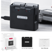 Cynova 2 · イン · 1バッテリー充電ハブdji mavicミニ1/2双方向充電djiミニ2ドローンアクセサリー