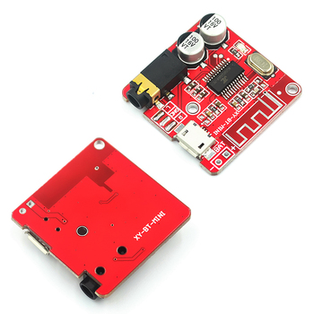 DIY audio receiver module MP3 Bluetooth decoder board lossless car speaker audio amplifier board modification 4.1 image