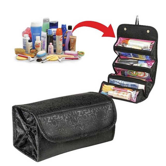 Fashion Travel Cosmetic Bag Women Nylon Multi-Function Make Up Bag Professional Lady bag organizer Beauty Case Neceser 2