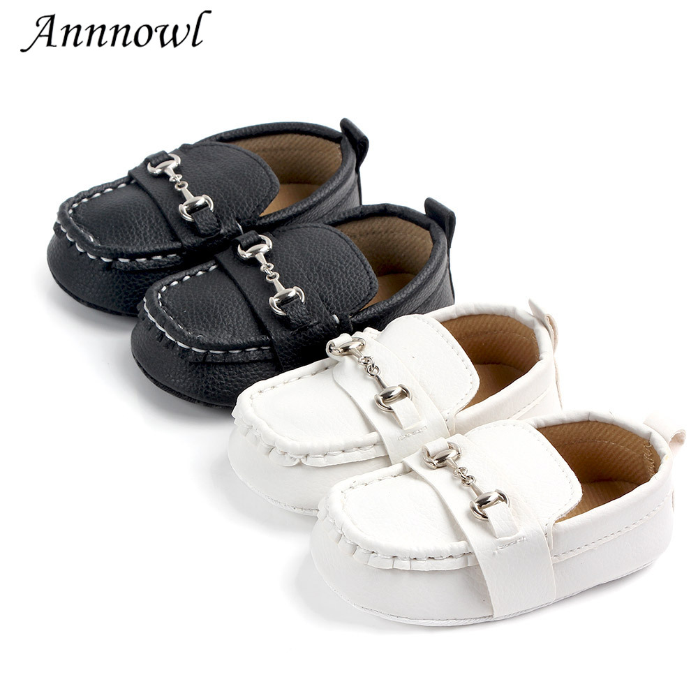 Fashion Baby Boy Shoes for 0-18 M Newborn Casual Tenis Infant Trainers Loafers Doll Shoes Toddler Leather Moccasins with Chain