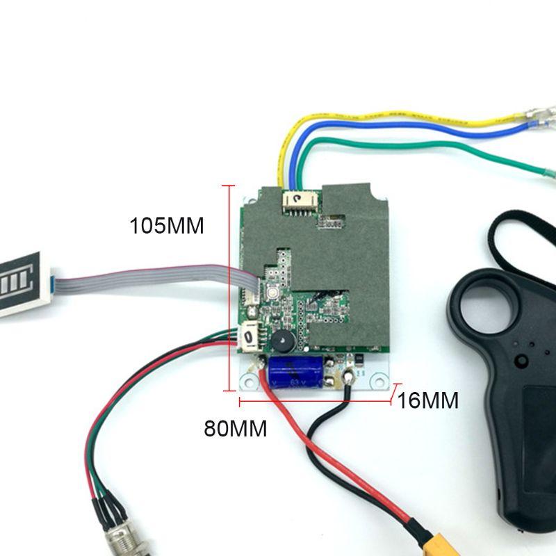 Controlador de monopatín eléctrico con un solo Motor de 36 V, piezas de repuesto ESC, herramientas de instrumentos para monopatín
