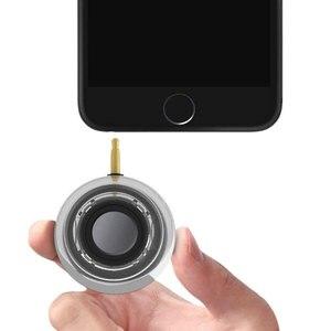 Image 5 - محمول HIFI ثلاثية الأبعاد Surround 3.5 مللي متر Aux الصوت جاك صغير لاسلكي شكل دائري قوي كريستال المتكلم واضح باس التوصيل والتشغيل