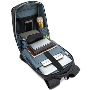 Image 2 - 抗盗難男性 mochila ビジネス旅行 15.6 インチのラップトップのバックパック、男性防水カレッジスクールコンピュータバッグ