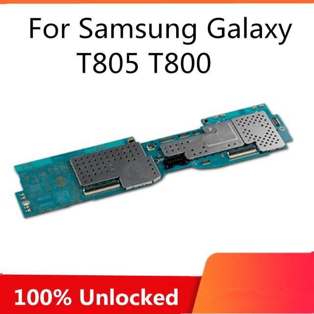 Carte mère débloquée en usine pour Samsung Galaxy Tab S 10.5 T800 T805, circuit imprimé principal complet avec puces pour SM T800 T805