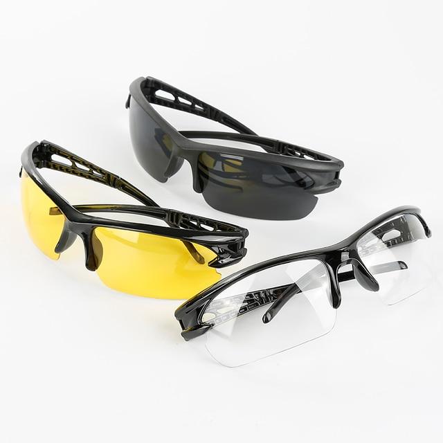 Óculos de ciclismo mtb óculos de bicicleta eyewear correndo pesca esportes óculos de sol pc à prova de explosão óculos de sol de viagem 5