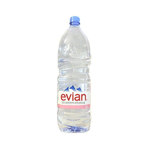 Evian - Natural Mineral Water - 2L