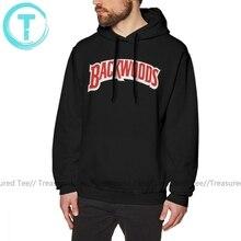 Backwoods Hoodie Backwoods Logo Hoodies büyük boy kırmızı svetşört erkek uzun kollu sıcak gevşek pamuklu şık Hoodies