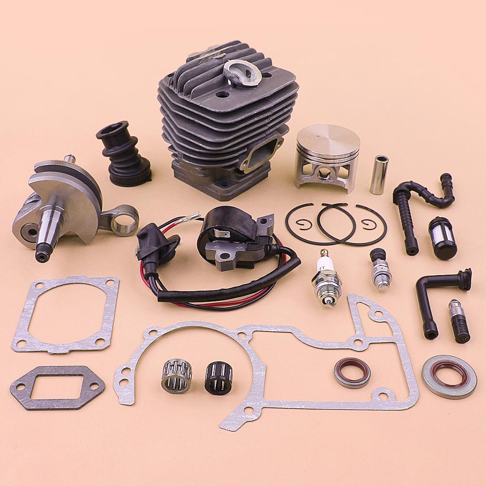 Tools : 54mm Cylinder Piston Crankshaft Ignition Coil Kit For Stihl MS660 066 MS 660 Gasket Fuel Oil Filter Line Hose Set