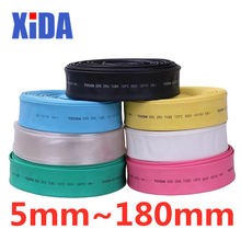 1meter 2:1 7color 10mm 20mm 30mm 40mm 50mm 80mm 100mm 150mm 180mm Heat Shrink Tube Heatshrink Tubing Wire Sleeving Wrap Kits