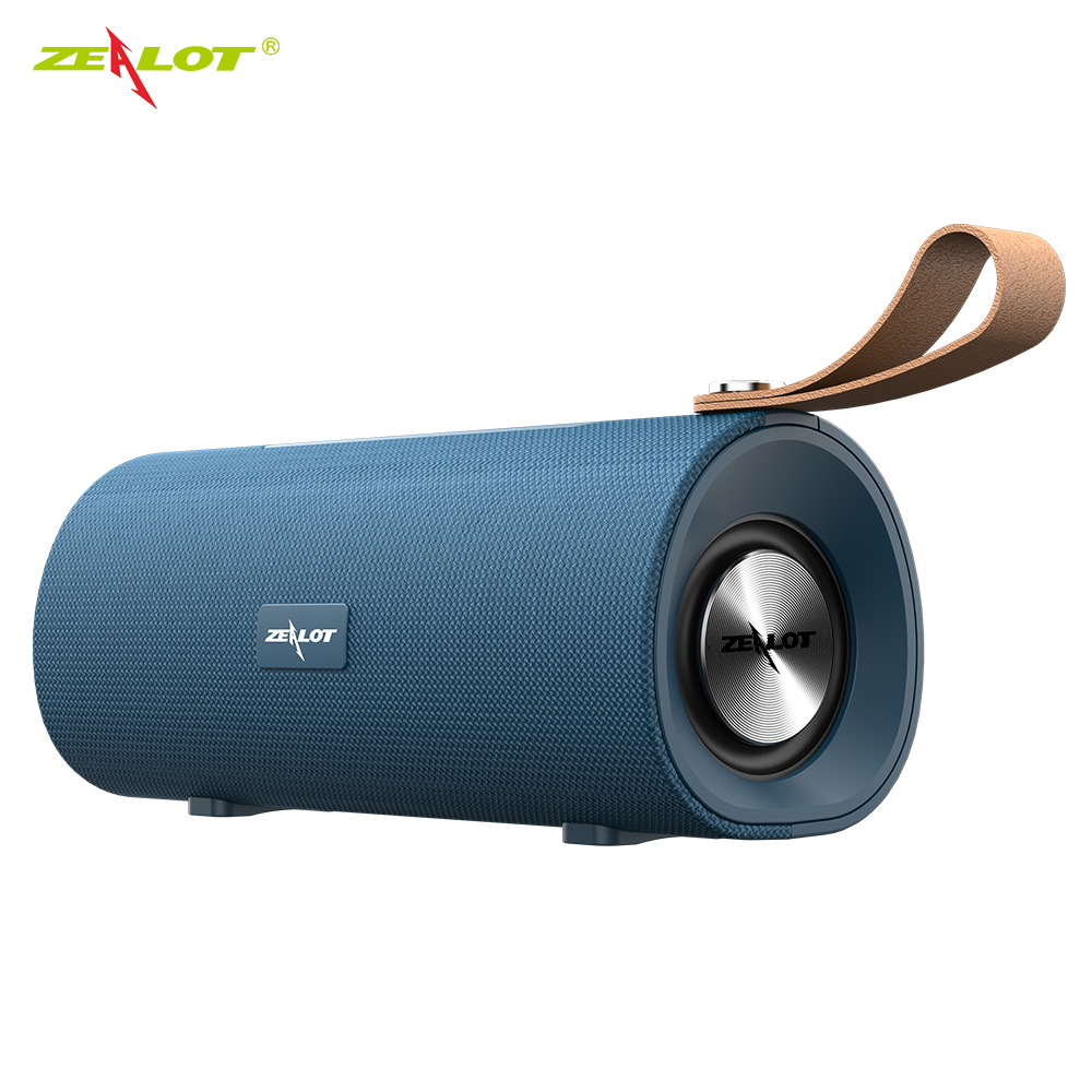 ZEALOT S30 Stereo Bluetooth Speaker Portable Bass Subwoofer Boombox Wireless Speaker Support TF card,TWS,AUX,USB Flash Drive