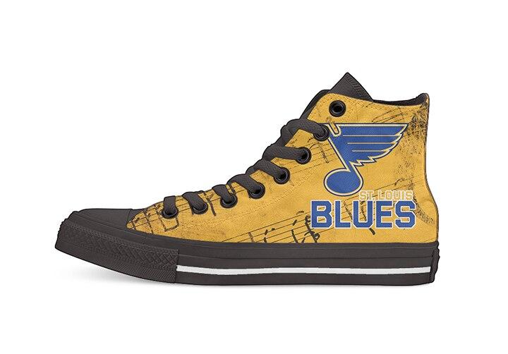 Оригинальный дизайн для Ice Hocky Оттава высокие кеды на заказ Повседневная обувь на плоской подошве Прямая поставка